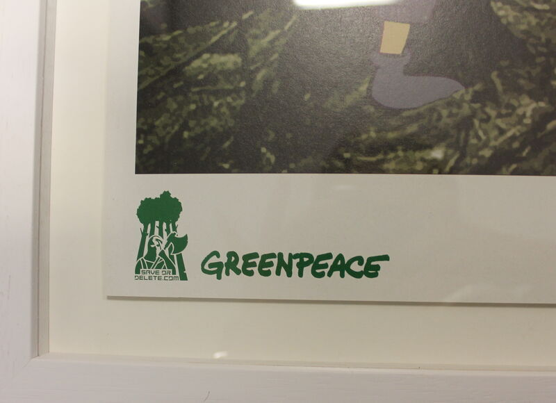 Banksy, 'Save or Delete', 2002, Ephemera or Merchandise, Offset lithograph in colours on recycled paper, Me Art Gallery