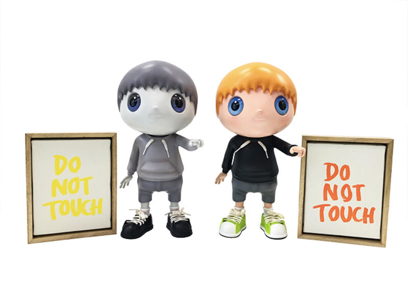 Javier Calleja, 'Do Not Touch (Set)', 2020, Sculpture, Mixed Media Sculpture, Marcel Katz Art