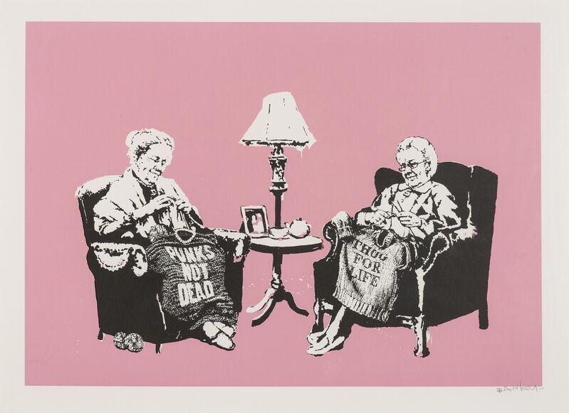 Banksy, 'Grannies', 2007, Print, Screenprint in colours, Forum Auctions
