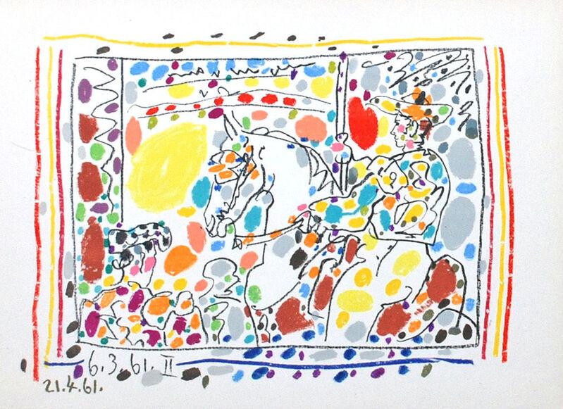 Pablo Picasso, 'Le Picador (II)', 1961, Print, Transfer lithograph, Georgetown Frame Shoppe