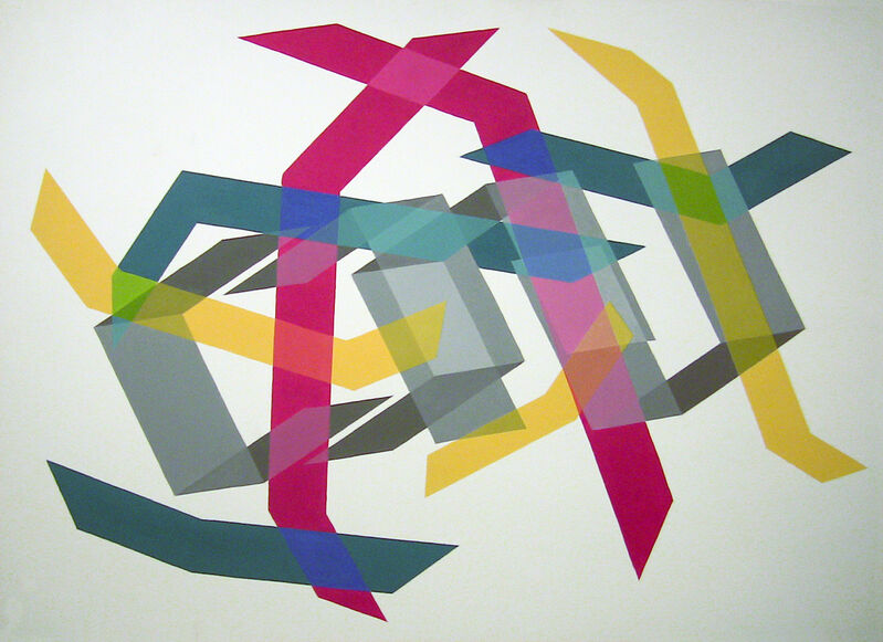 Kati Vilim, 'Triptych 2', 2010, Painting, Oil on canvas mounted on panel, Mucciaccia Gallery