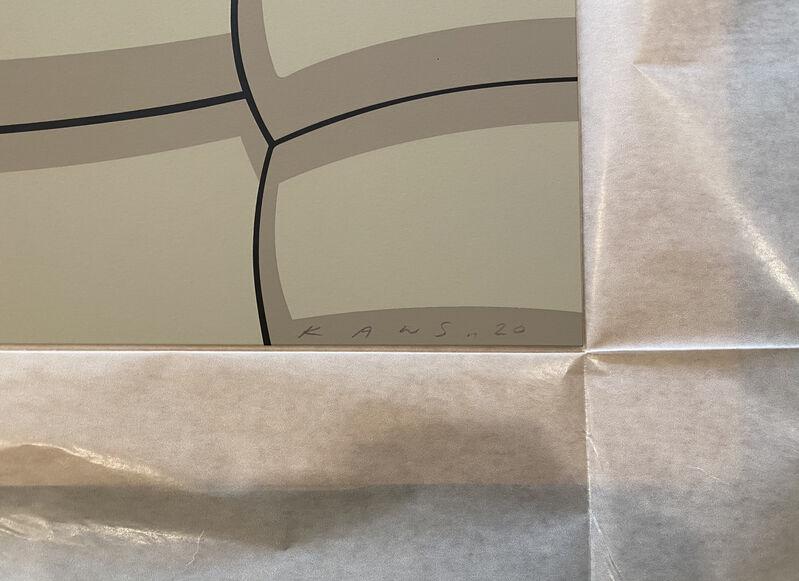 KAWS, 'What Party (Grey)', 2020, Print, Screenprint on Saunders Waterford 425gm HP hi-white, Georgetown Frame Shoppe
