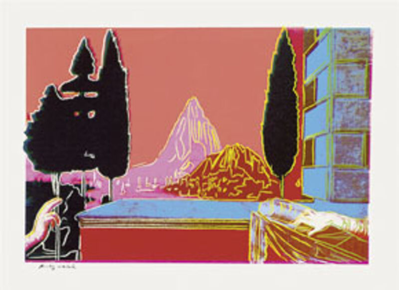 Andy Warhol, 'Details of Renaissance Paintings (Leonardo da Vinci, The Annunciation)', 1984, Print, 4 Screenprints on rag paper, Schellmann Art