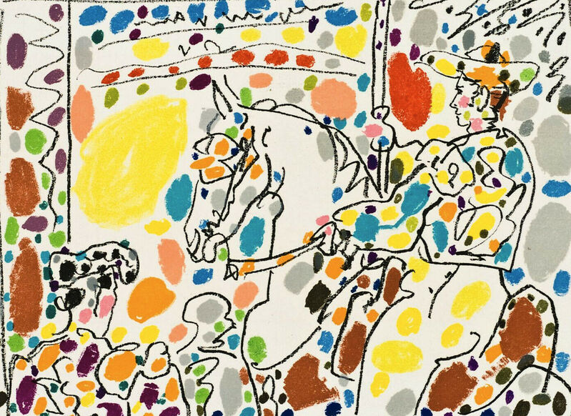 Pablo Picasso, 'Picador II', 1961, Print, Original Lithograph in Colors on Wove Paper, NCAG