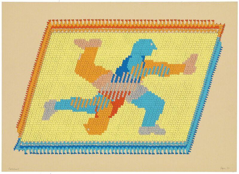 Thomas Bayrle, 'Rundläufer', 1970, Print, Silkscreen print on cardboard, Air de Paris