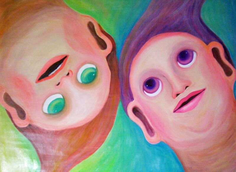 Ardyce, 'Birth', 2011, Painting, Acrylic on canvas, Japigozzi Collection