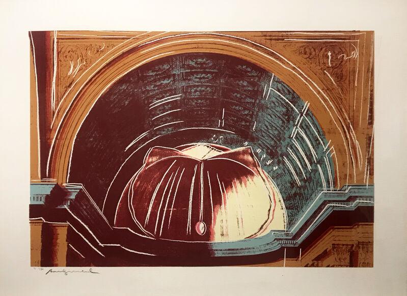 Andy Warhol, 'Details of Renaissance Paintings (Piero della Francesca, Madonna del Duca da Mantefeltro, Circa 1472)', 1984, Print, Screenprint on Arches Aquarelle paper, Taglialatella Galleries