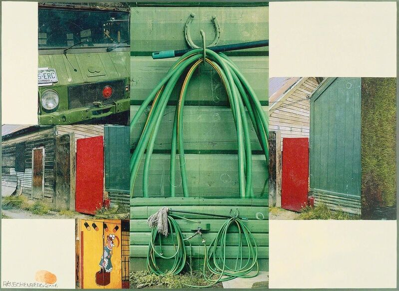Robert Rauschenberg, 'Algae', 2006/2007, Print, Colour screenprint, Koller Auctions