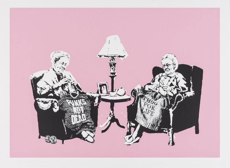 Banksy, 'Grannies', 2006, Print, Screenprint in colours, Forum Auctions