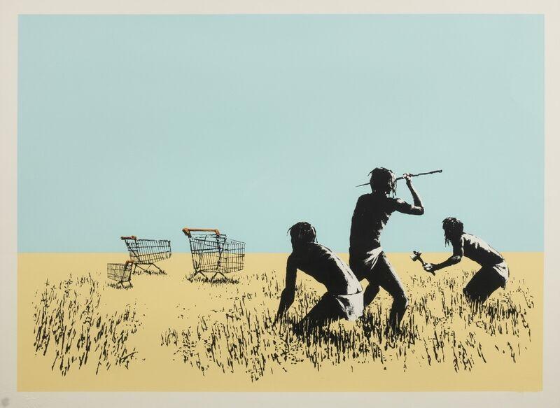 Banksy, 'Trolleys (colour)', 2007, Print, Screenprint in colours, Forum Auctions