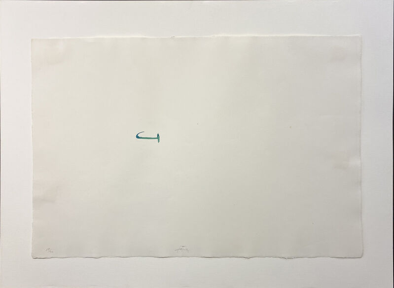 Antoni Tàpies, 'Untitled from el pa a la barca: ten plates', 1963, Mixed Media, Lithograph in colour with collage on guarro paper, Nikola Rukaj Gallery