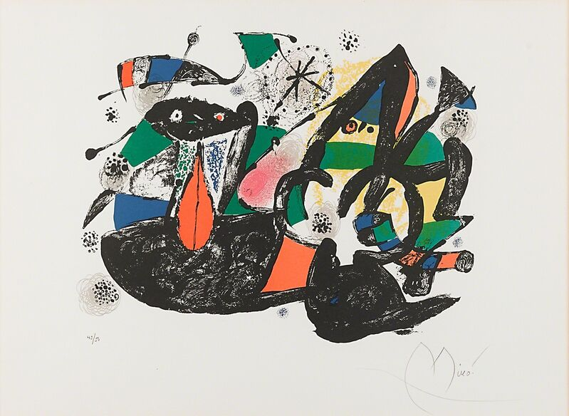 Joan Miró, 'Untitled', Print, Lithograph in colors, Rago/Wright