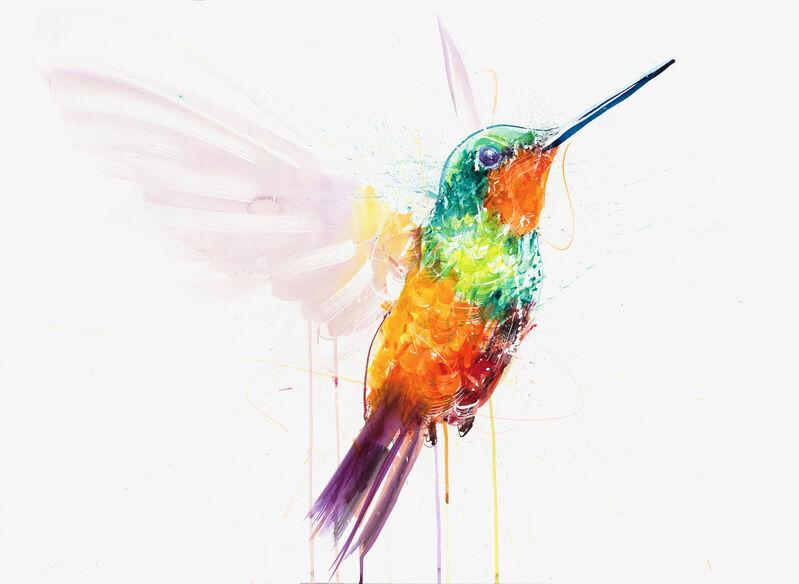Dave White, 'Hummingbird IX', 2021, Print, Giclée print on paper, Hang-Up Gallery