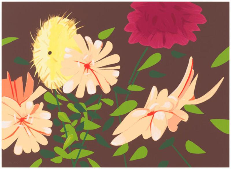 Alex Katz, 'Late Summer Flowers', 2013, Print, Screenprint, Nikola Rukaj Gallery