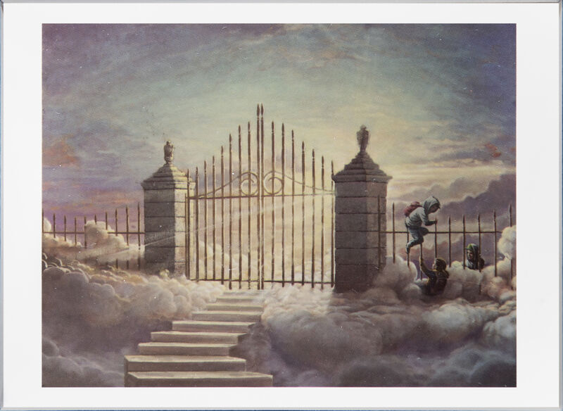 Banksy, 'Walled Off Hotel Postcard', 2017, Print, Postcard, Tate Ward Auctions