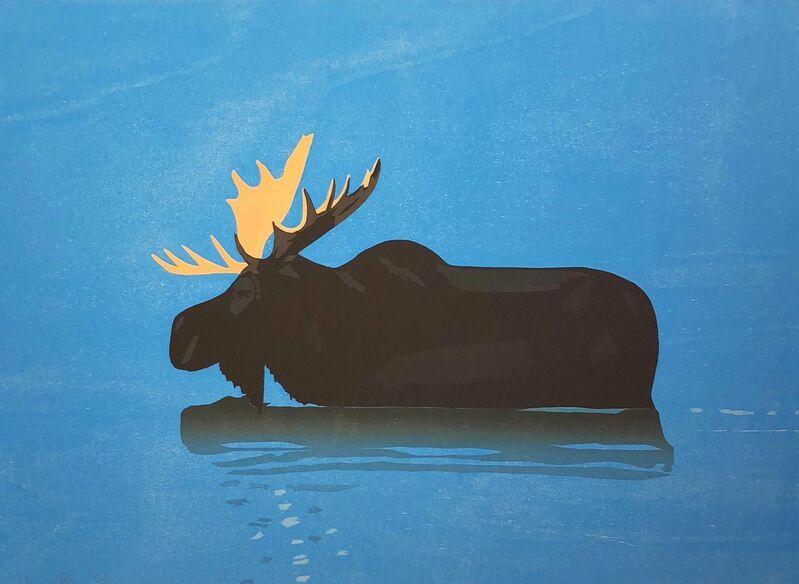 Alex Katz, 'Moose', 2013, Print, Woodcut, Hamilton-Selway Fine Art Gallery Auction