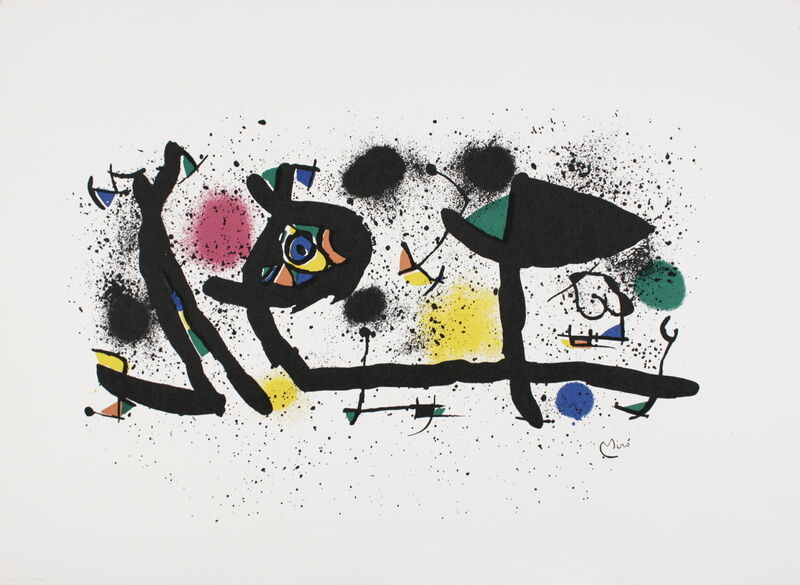 Joan Miró, 'Sculpture', (Date unknown), Reproduction, Stone Lithograph, ArtWise
