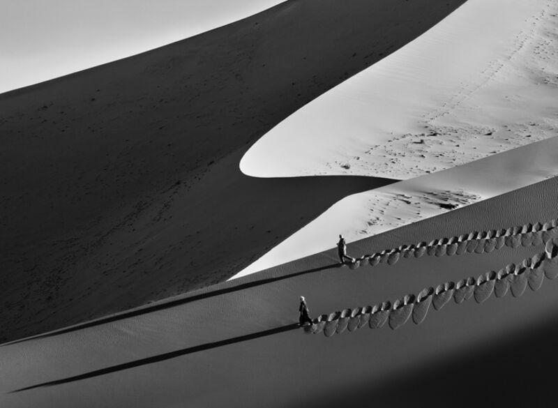 Sebastião Salgado, 'Sand Dunes, Tadrart, South of Djanet, Algeria', 2009, Photography, Gelatin silver print, Sundaram Tagore Gallery