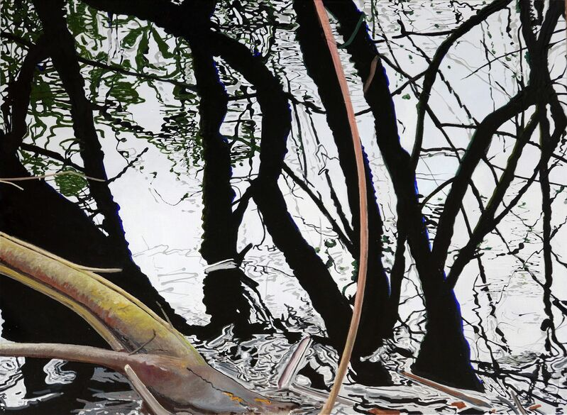 Søren Martinsen, 'Black Water', 2019, Painting, Oil on canvas, Accesso Galleria