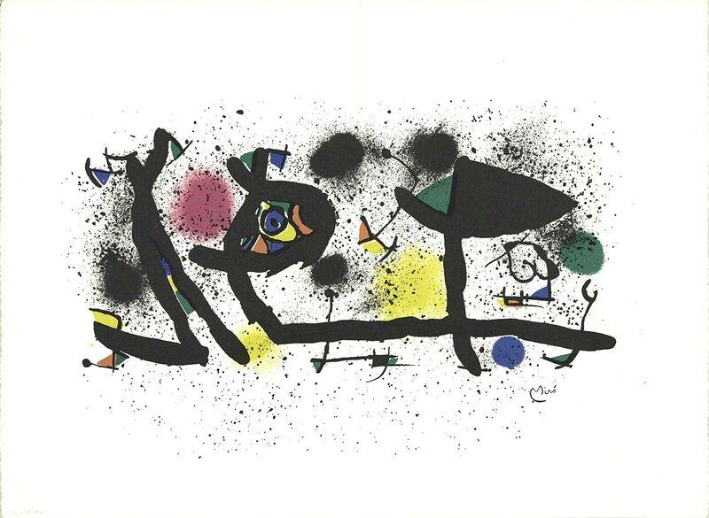 Joan Miró, 'Sculptures', 1980, Print, Lithograph, ArtWise