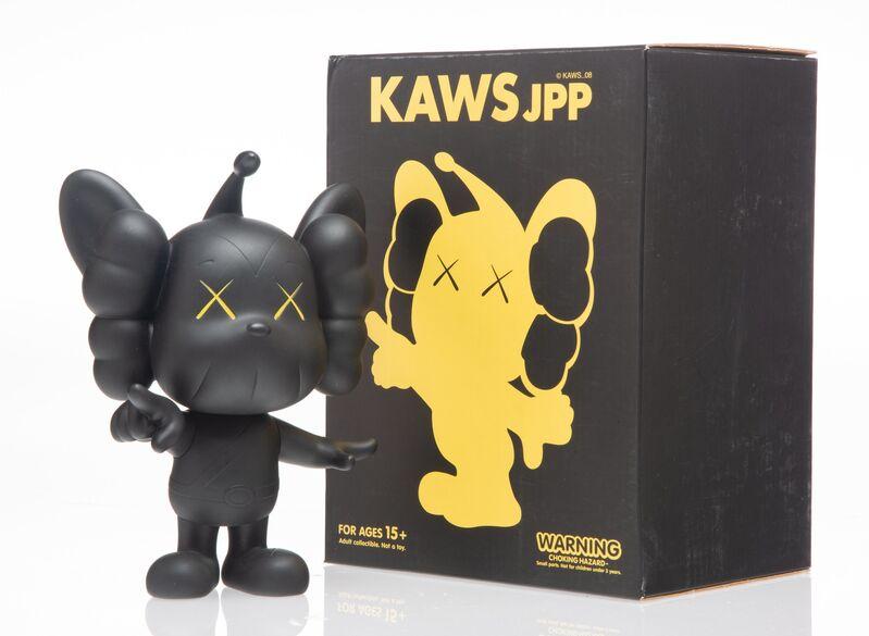 KAWS, 'JPP (Black)', 2008, Sculpture, Painted cast vinyl, Heritage Auctions