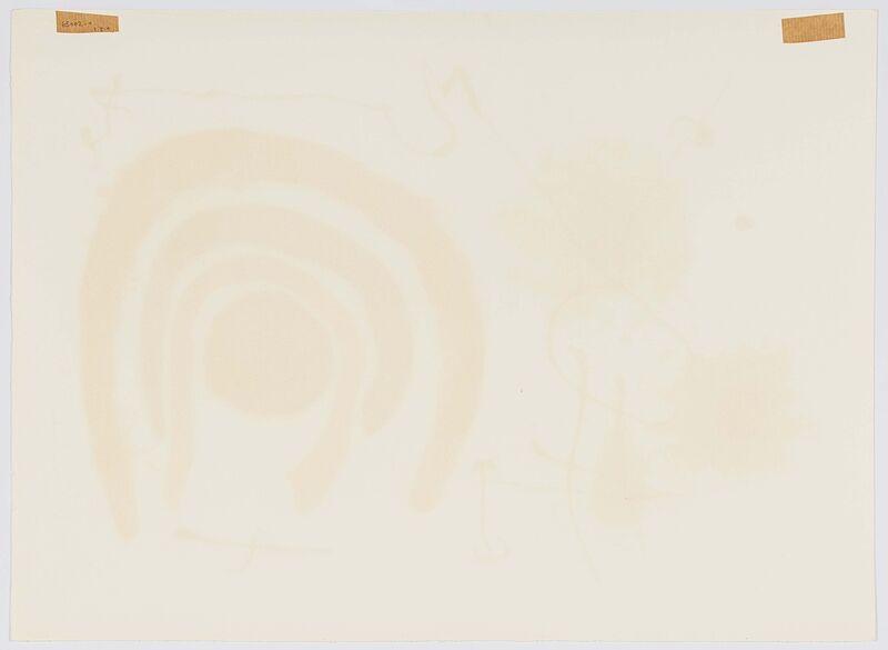 Joan Miró, 'From: Die Eidechse mit den Goldfedern', 1967, Print, Colour lithograph on vellum, Van Ham