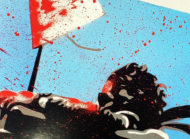 Mr. Brainwash, ''Max Spray'', 2010, Ephemera or Merchandise, Offset lithograph on satin poster paper., Signari Gallery
