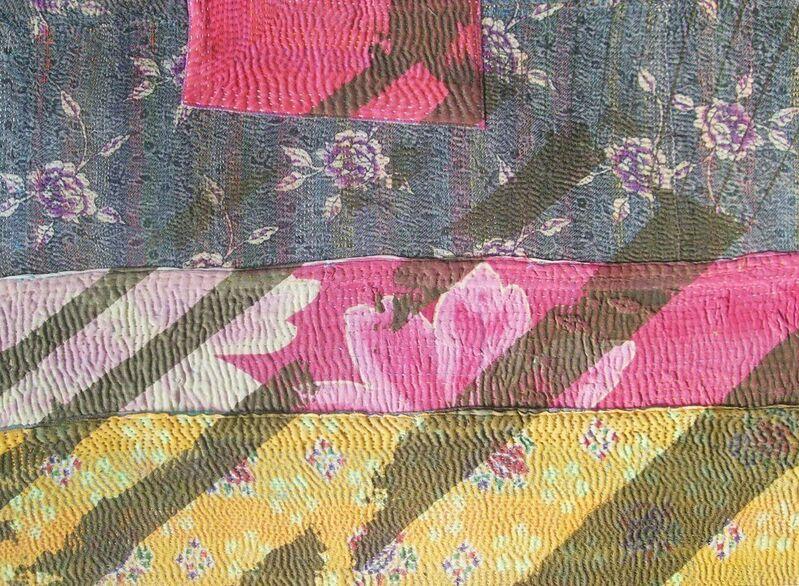 Shezad Dawood, 'MGH 07', Painting, Acrylic on Vintage Textile, Paradise Row