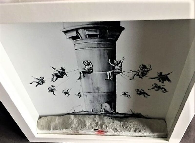 Banksy, 'AUTHENTIC Walled-Off (from 2017)', 2020, Ephemera or Merchandise, Concrete, AYNAC Gallery