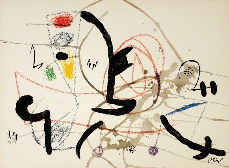Joan Miró, 'Maravillas #1063', 1975, Print, Stone Lithograph, ArtWise