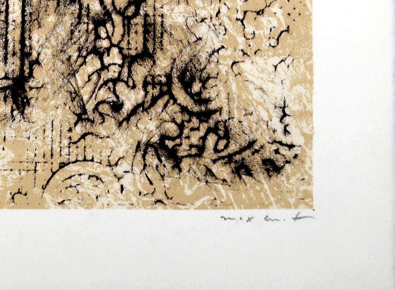 """Max Ernst, 'Pour un poème de Jean Cassou', 1967, Print, Original lithograph in colors on """"B.F.K. Rives """" paper., NCAG"""