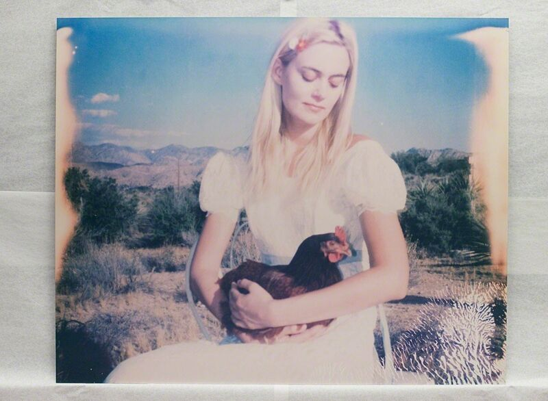 Stefanie Schneider, 'Chicken Madonna', 2016, Photography, Digital C-Print, mounted on Aluminum with matte UV-Protection based on a Polaroid, Instantdreams