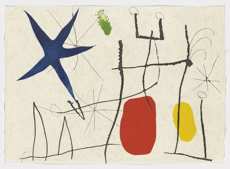 Joan Miró, 'Francesc d'Assis: Càntic del Sol', 1975, Print, The complete portfolio comprising 33 etchings and aquatints in colours, two additional suites, one cancellation suite, and two planches refusées, on various papers, Christie's