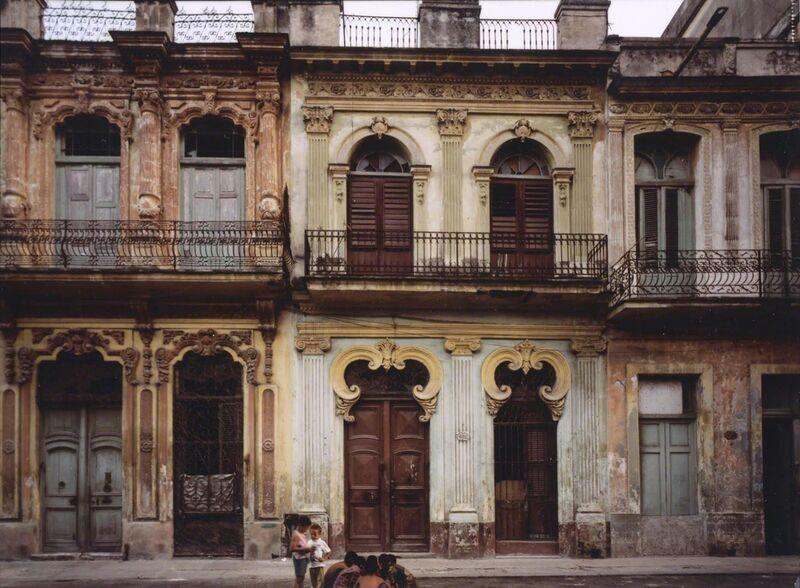 Robert Polidori, 'Avenida San Lazaro #1, Havana, Cuba', 1997, Photography, Fujicolor crystal archive print mounted to dibond, Rosenbaum Contemporary