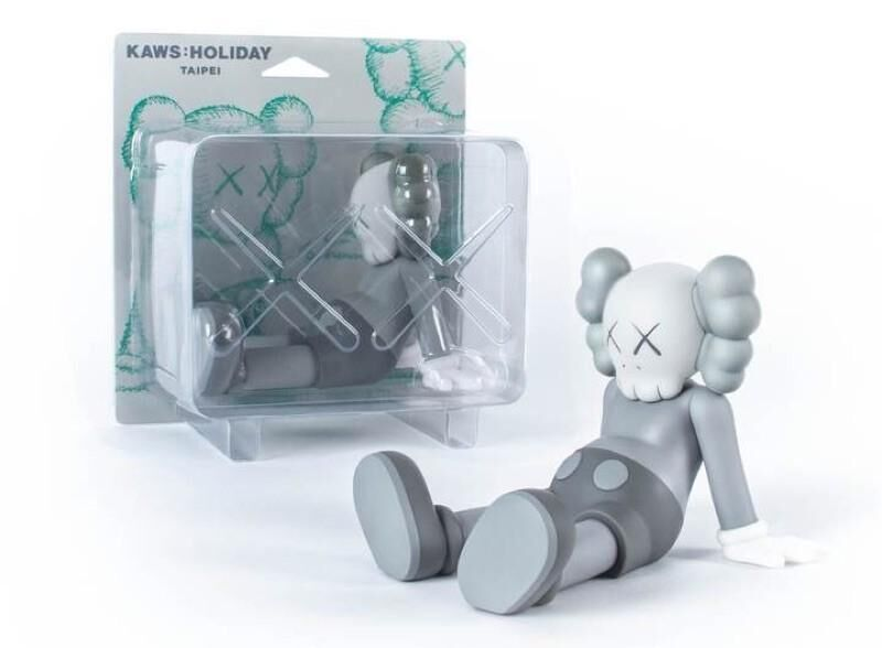 KAWS, 'KAWS: Holiday Taipei (Grey)', 2019, Sculpture, Vinyl, Cast Resin, Curator Style