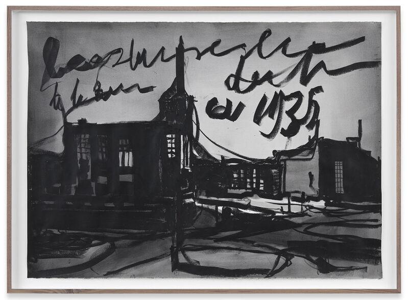 Marcel van Eeden, 'Untitled', 2015, Drawing, Collage or other Work on Paper, Oil pastel on paper, In Situ - Fabienne Leclerc