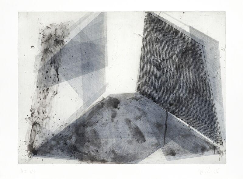 José Pedro Croft, 'Untitled', 2018, Print, Etching, aquatint, spit bite & drypoint, Galería La Caja Negra