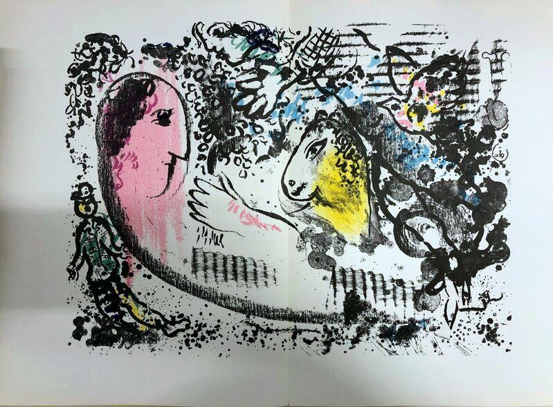 Marc Chagall, 'Rêverie', 1969, Print, Original lithograph on wove paper, Samhart Gallery