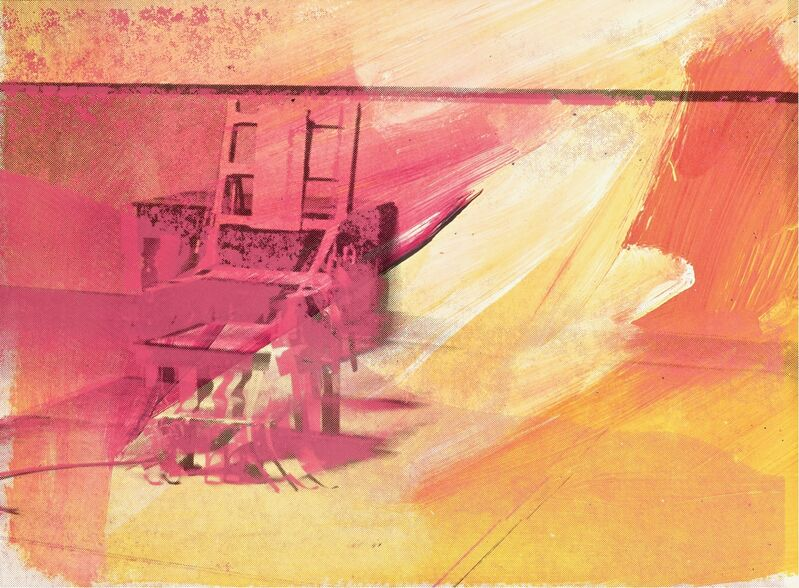 Andy Warhol, 'Electric Chair', 1971, Print, Screenprint in colors on wove paper, Artsy x Rago/Wright