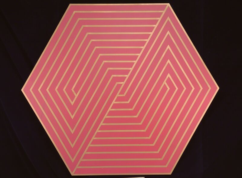 Anthony Poon, 'Untitled (Octagonal - Red/Gold)', ca. 1970s, Painting, Acrylic on canvas, Singapore Art Museum (SAM)
