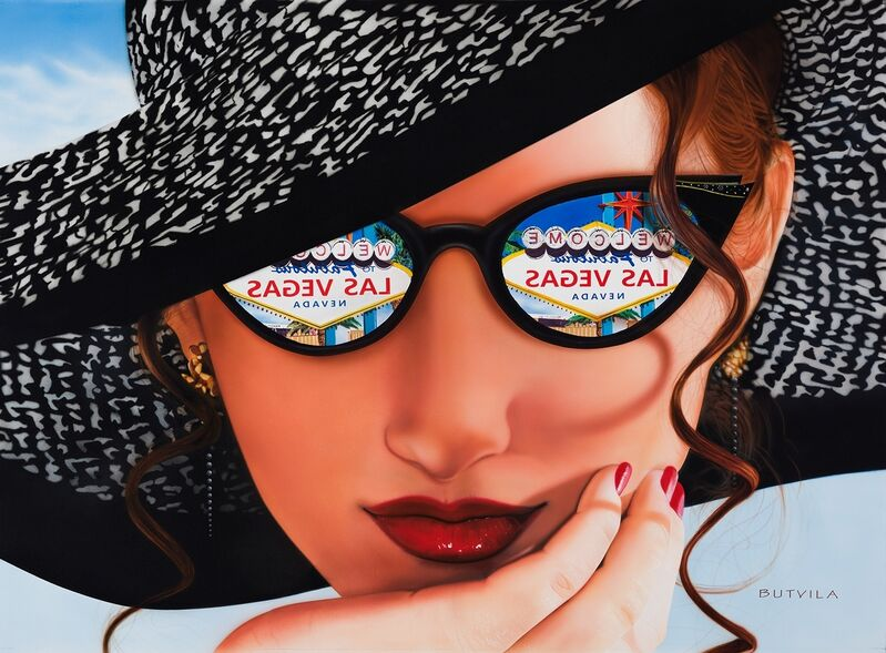 Paul Butvila, 'Eyes on Vegas', 2017, Painting, Acrylic on canvas, Plus One Gallery