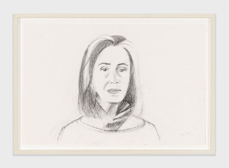 Alex Katz, 'Ada', 2014, Drawing, Collage or other Work on Paper, Charcoal on paper, Richard Gray Gallery