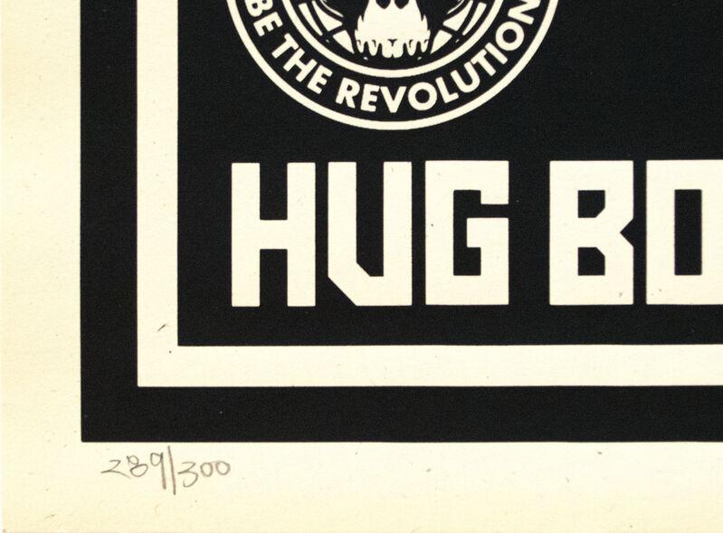 Shepard Fairey, 'Hug Bombs', 2004, Print, Screenprint on paper, Heather James Fine Art