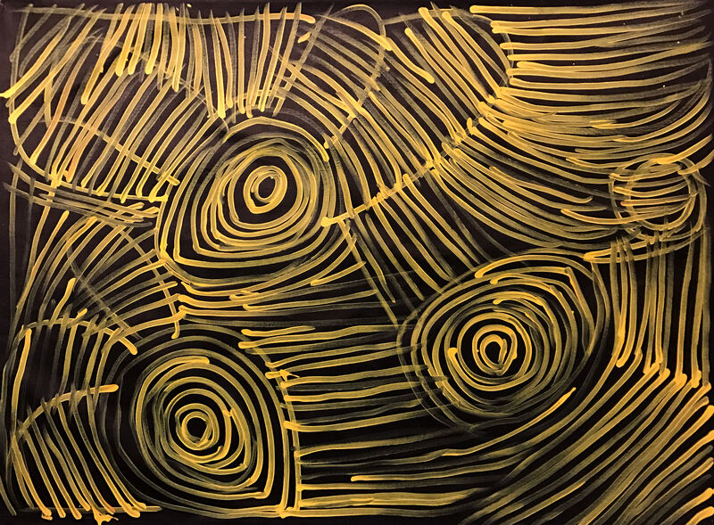 Minnie Pwerle, 'Awelye - Ceremonial Body Paint', ca. 2000, Painting, Acrylics on Belgian Linen, Wentworth Galleries