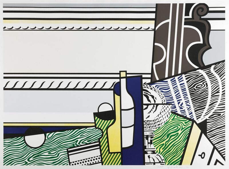 Roy Lichtenstein, 'Still life with crystal bowl', 1976, Print, Screenprint and lithograph on BFK Rives paper, Artsy x Tate Ward