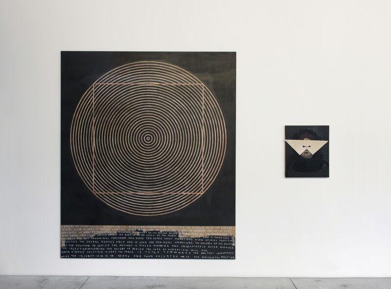 Thomas Zipp, 'A.B.: INJECTIONS', 2011, Painting, Acrylic and oil on canvas / mixed media, acrylic and oil on canvas, 2 parts, Baronian Xippas