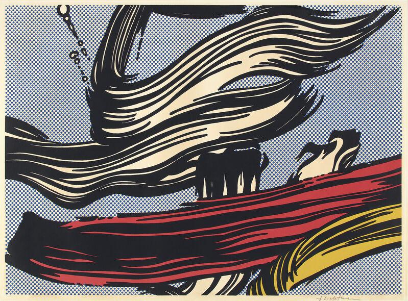 Roy Lichtenstein, 'Brushstrokes', 1967, Print, Screenprint in colors, on off-white wove paper, with full margins., Phillips