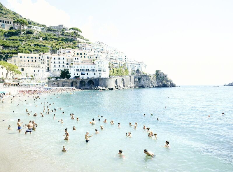 Joshua Jensen-Nagle, 'Amalfi Looking Out', 2018, Photography, Photograph Face Mounted To Plexi, Newzones