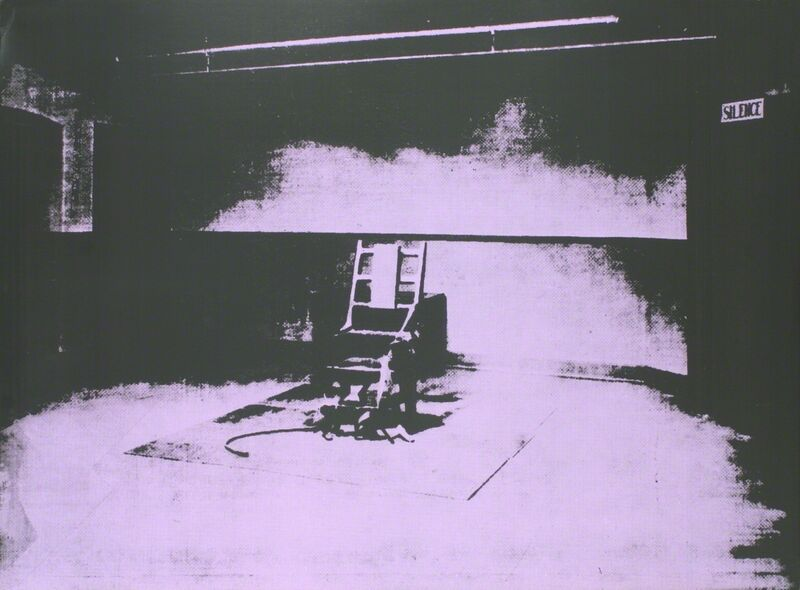 Andy Warhol, 'Electric Chair-Sunday B Morning', 1971, Print, Silkscreen, ArtWise