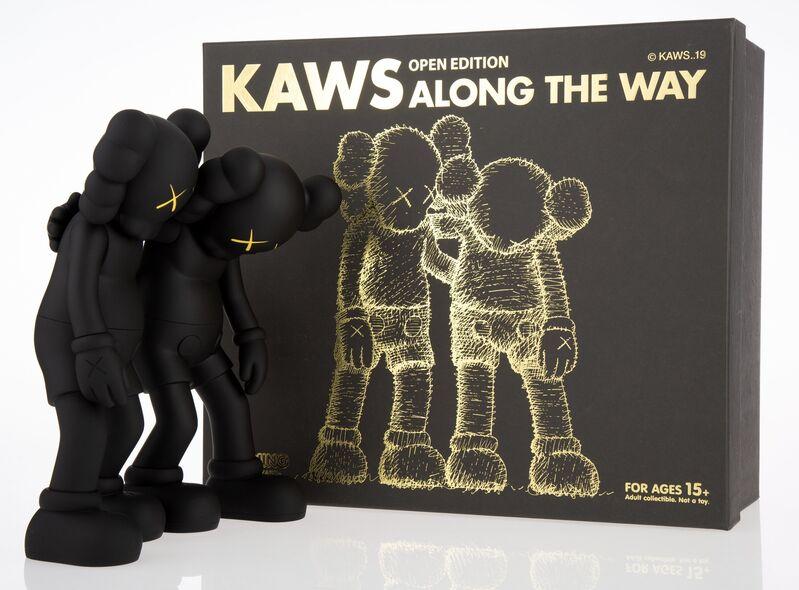 KAWS, 'Along the Way (set of 3)', 2019, Sculpture, Painted cast vinyl, Heritage Auctions